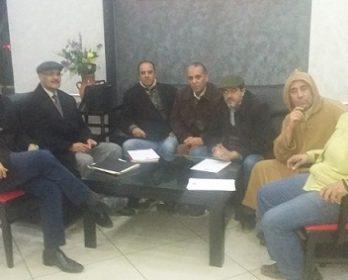 النقابة المغربية للصحافة و الإعلام بالرحامنة تتعزز بمنخرطين جدد.