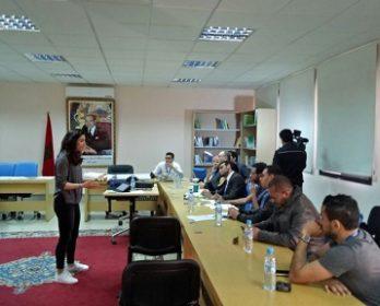 اليوم الثاني للملتقى الدولي للإعلام الالكتروني بابن جرير : ورشات تطبيقية و رحلة سياحية إلى سيتي فاطمة.