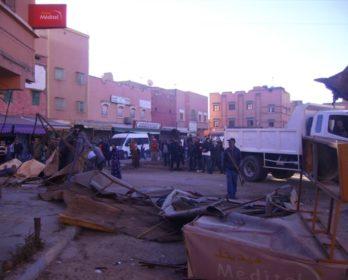 تحرير الملك العام من الاحتلال بابن جرير : احتلال الشوارع بديلا.