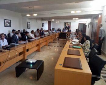 عامل  الرحامنة أمام برلمان الإقليم : التشغيل مرتبط بالكفاءة و الاستحقاق.