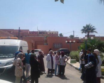 بلاغ…..إهمال و تسويف بالمستشفى الإقليمي للرحامنة